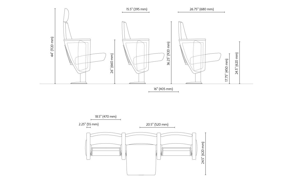 stylos dimensions