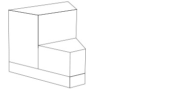72206 – 45 Degree Inside Wedge