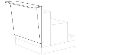 -----T – Counter Height Table