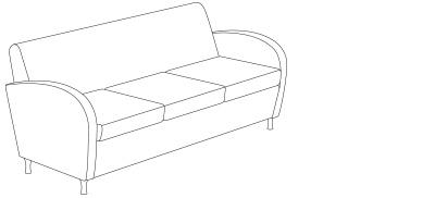 9833 – Sofa