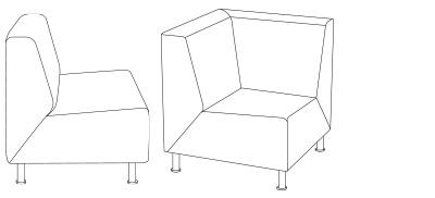 6325 – Corner Chair