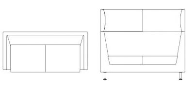 3896 – Double Seat
