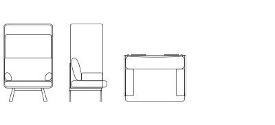 77401/77403 - Single Seat Canopy