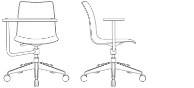 2883 – 5-Star Swivel, with Tablet