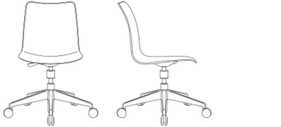 2884 – 5-Star Swivel, without Tablet